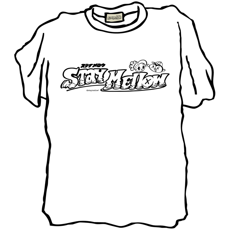 """STAYMELLOW logo"" SS T-SHIRT"