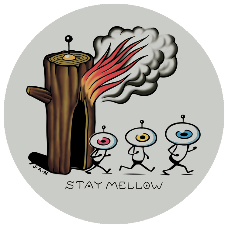 STAYMELLOW Artisit sticker Series 002