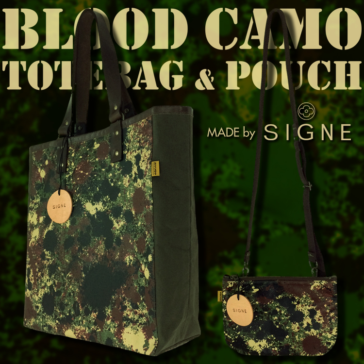 BLOOD CAMO BAG SERIES