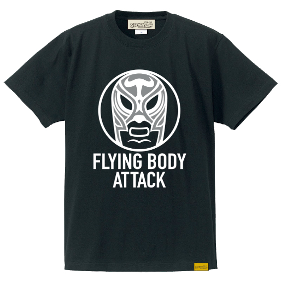 """FLYING BODY ATTACK"" T-SHIRT [受注販売]"